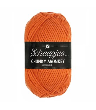 Scheepjes Chunky Monkey 100g - 1711 - Deep Orange