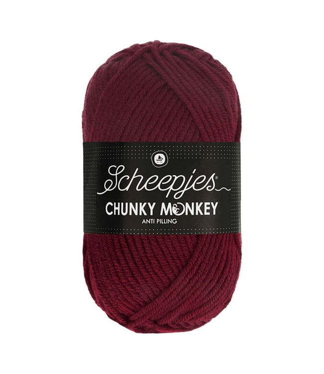 Scheepjes Chunky Monkey 100g - 1035 - Maroon
