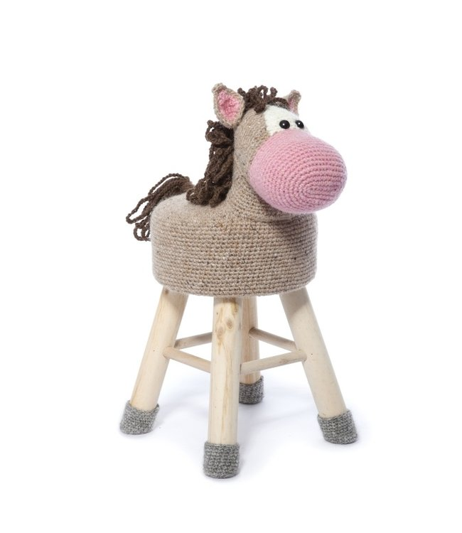 Haakpret Package Horse - alternative yarn without wool