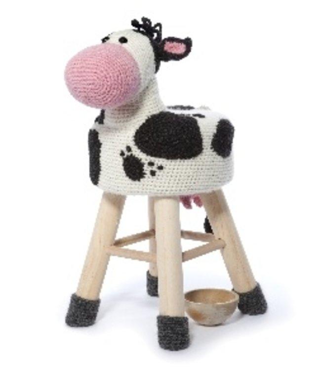 Haakpret Paket Kuh - alternatives Garn ohne Wolle