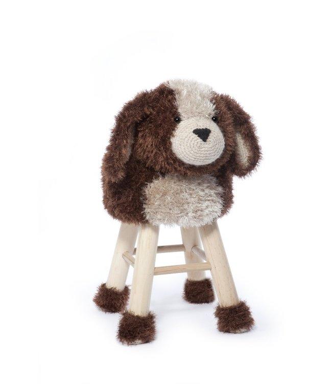Haakpret Paket Hund - alternatives Garn ohne Wolle
