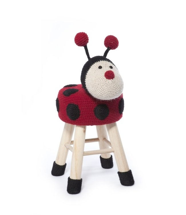 Haakpret Package Ladybug - alternative yarn without wool