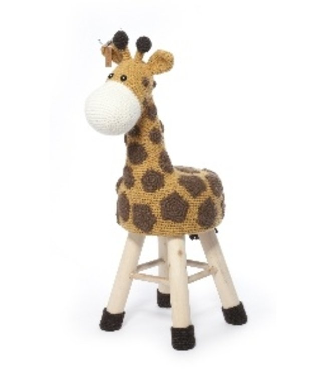 Haakpret Pakket Giraffe - alternatief garen 50%  wol