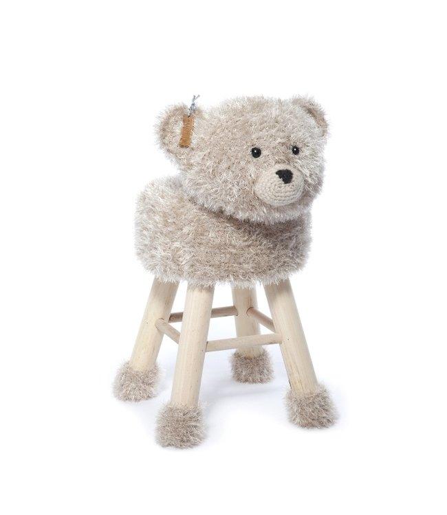 Haakpret Paket Bär - alternatives Garn 50%  Wolle