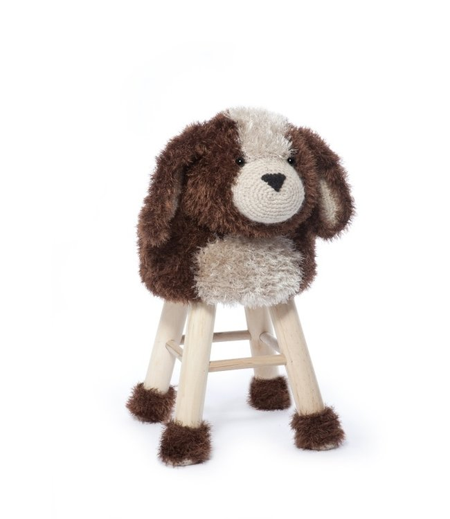 Haakpret Package Dog - alternative yarn 50%  wool