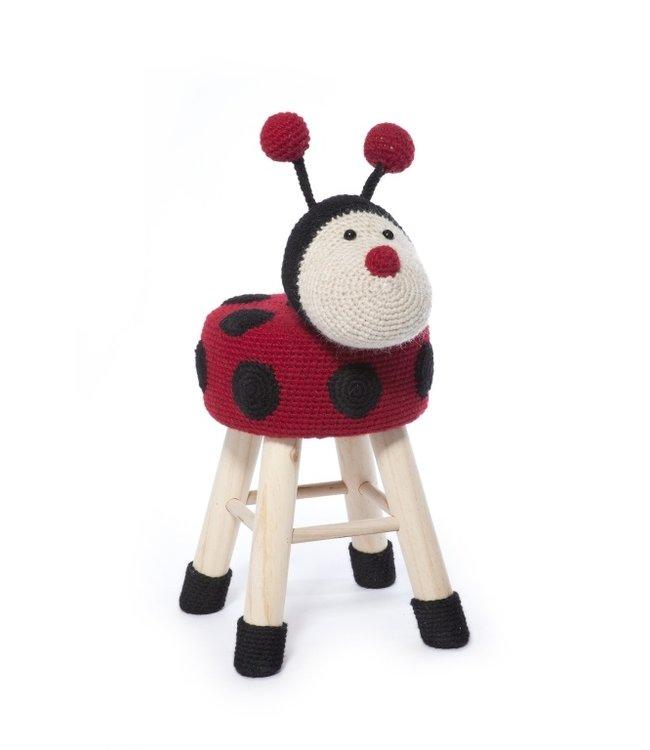 Haakpret Package Ladybug - alternative yarn 50%  wool