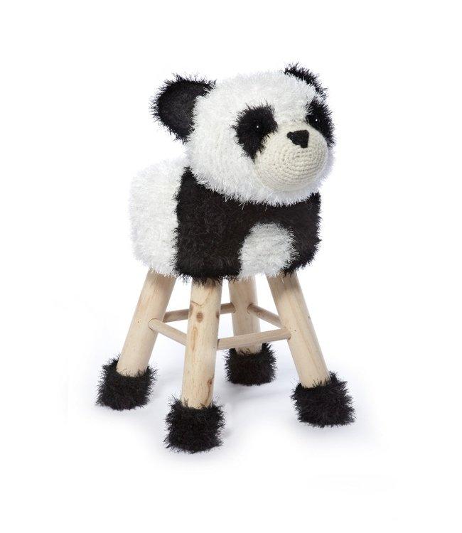 Haakpret Pakket Panda - alternatief garen 50%  wol