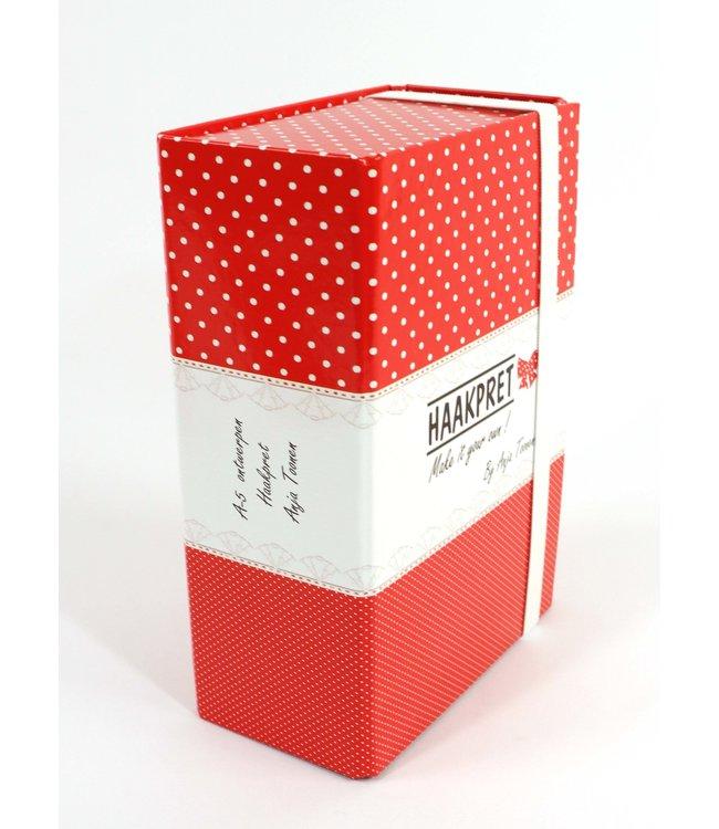 Haakpret Boîte de rangement A5 pour tous les designs individuels