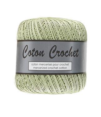 Lammy Yarns Coton Crochet no 10 - 50g - 018 lichtgroen