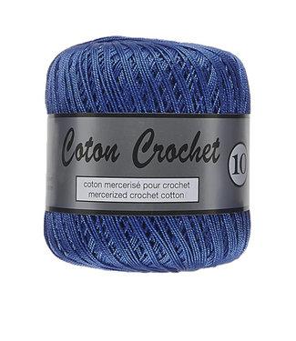 Lammy Yarns Coton Crochet no 10 - 50g - 022 blauw