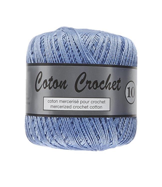 Lammy Yarns Coton Crochet no 10 - 50g - 040 blauw