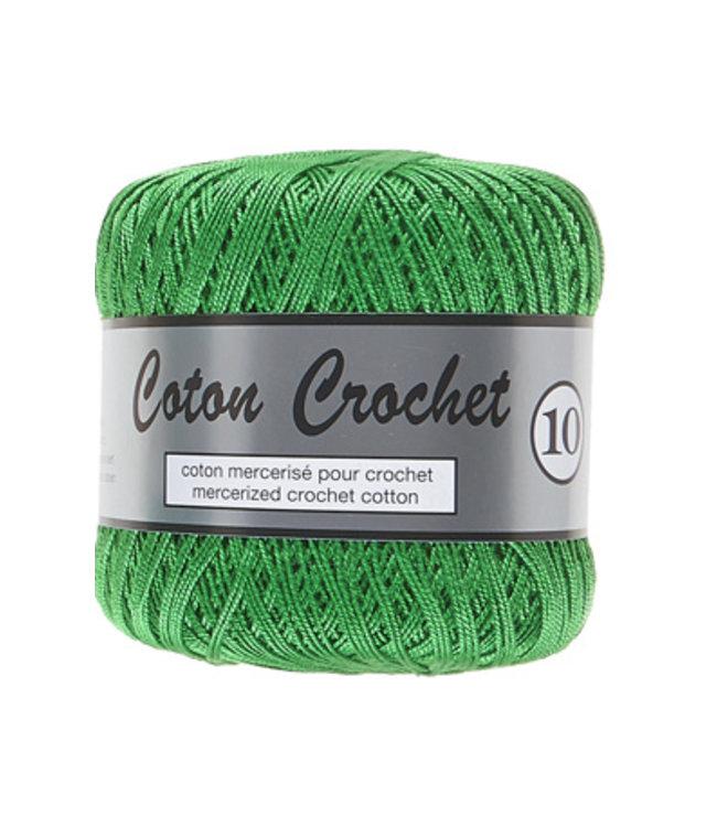 Lammy Yarns Coton Crochet no 10 - 50g - 045 groen