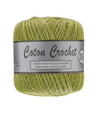 Lammy Yarns Coton Crochet no 10 - 50g - 071 groen