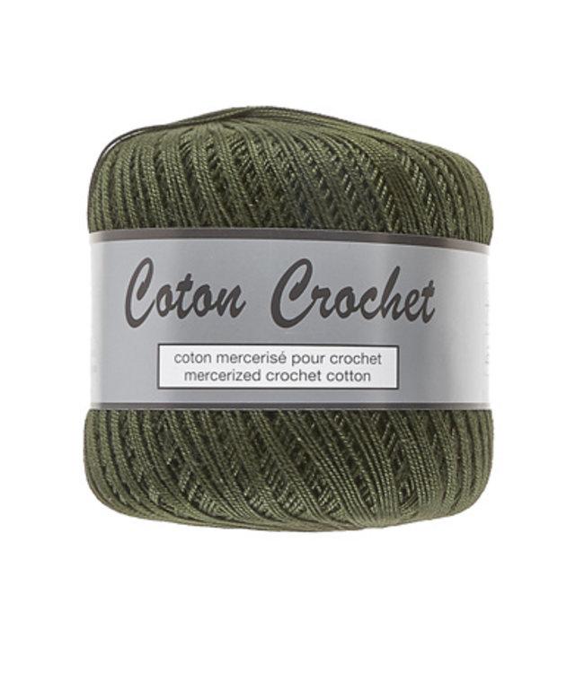 Lammy Yarns Coton Crochet no 10 - 50g - 072 groen