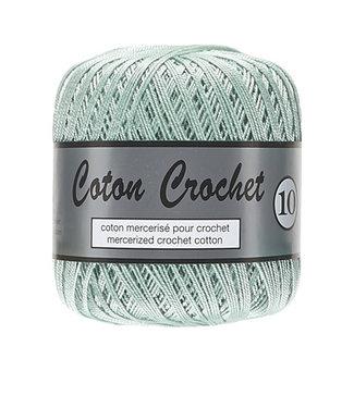 Lammy Yarns Coton Crochet no 10 - 50g - 074 licht antiek groen