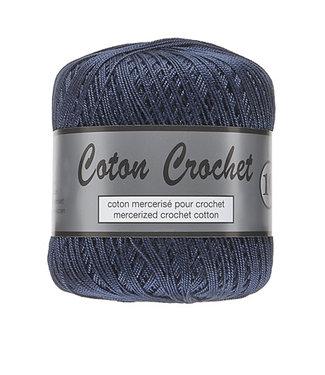 Lammy Yarns Coton Crochet no 10 - 50g - 890 donkerblauw