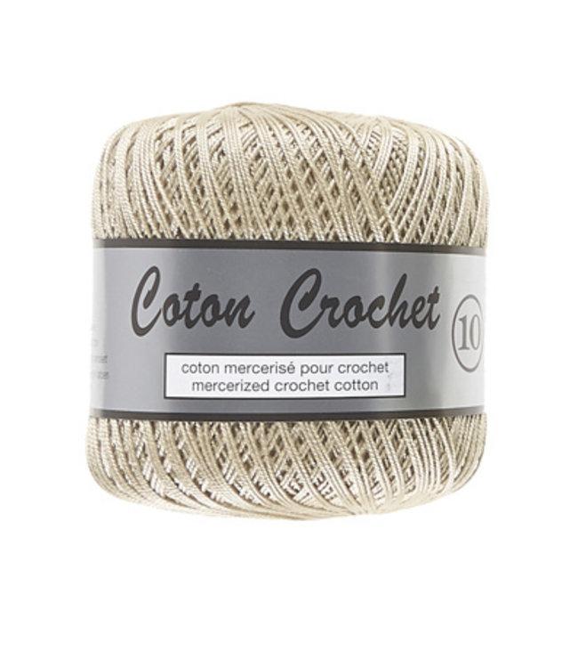 Lammy Yarns Coton Crochet no 10 - 50g - 791 beige