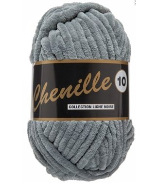 Lammy Yarns Chenille 10 - 200g - 002 - grijs