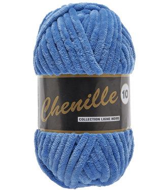 Lammy Yarns Chenille 10 - 200g - 022 - blauw