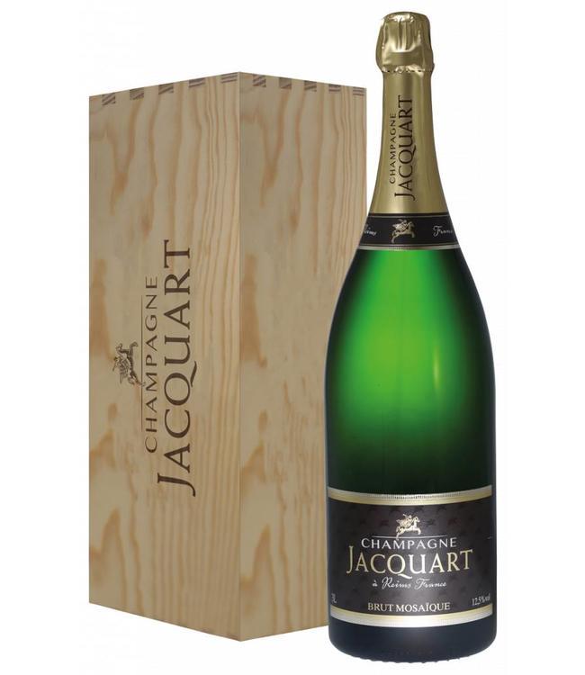 Jacquart Champagne Jacquart brut Mosaique (jeroboam in geschenkkist)