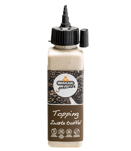 Smaakgeheimen dressing topping zwarte truffel 150 ml