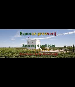 Esporao wijnproeverij zaterdag 4 april 2020