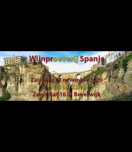Wijnproeverij Spanje Zaterdag 14 november 2020