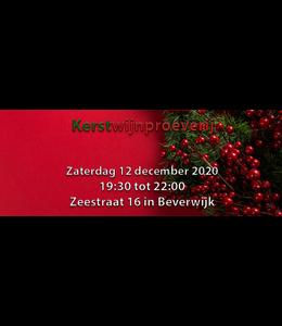 Wijnproeverij Kerstwijnen Zaterdag 12 december 2020