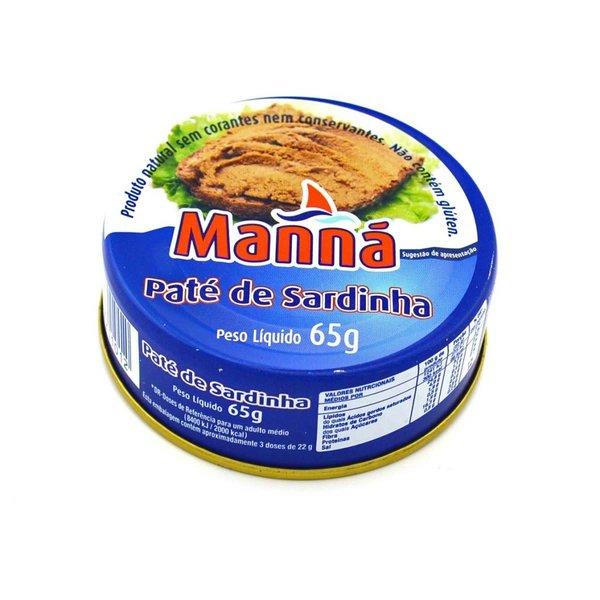 Manna pate de sardinha