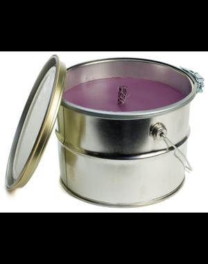 Rustik Lys kaars (Lavender groot)
