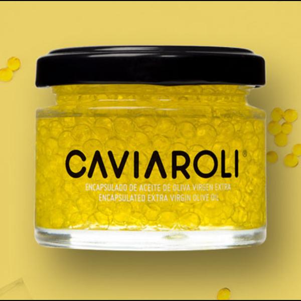 Caviaroli culinaire parels olijfolie Arbequina 50 gram