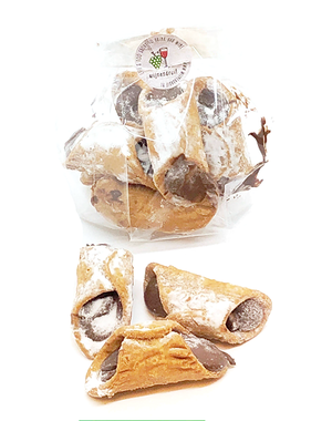 Arragostine cannoli Hazelnoot Chocola