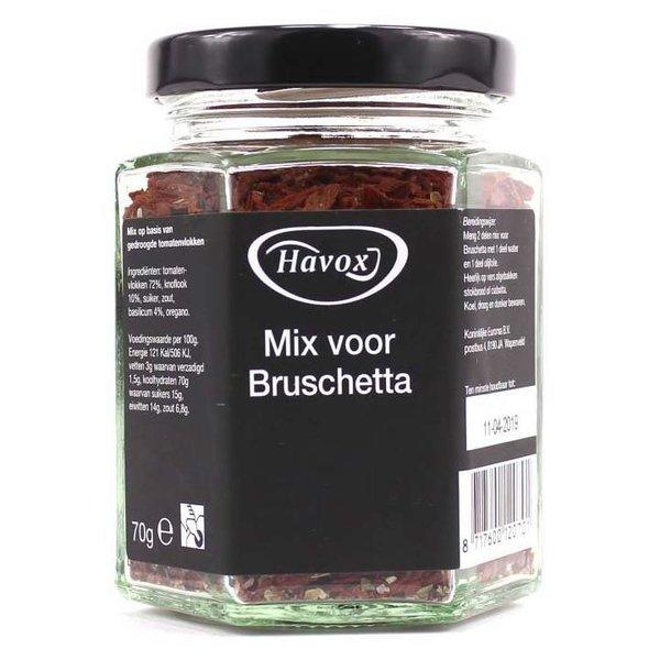 Havox bruchetta kruidenmix 70 gram