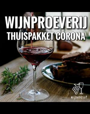 Wijnproeverij thuispakket corona
