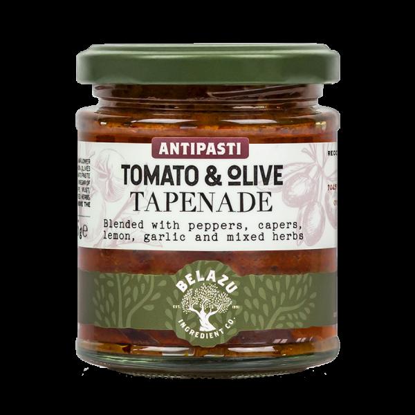 Belazu antipasti tomato en olive tapenade