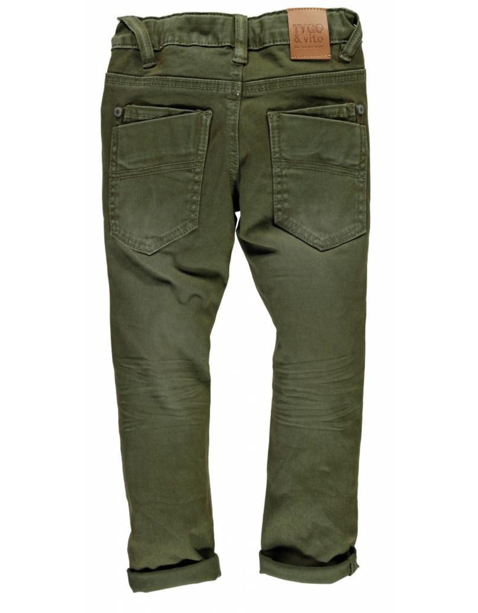 TYGO & Vito TYGO & Vito Jeans Skinny Army Maat 152