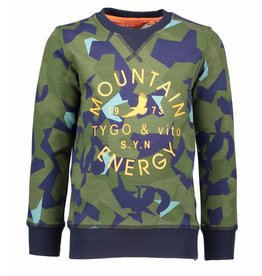 TYGO & Vito TYGO & Vito  Sweater Mountain army mt 98-104