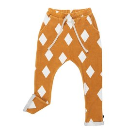 Carlijn Q Diamonds ochre pocket sweatpants