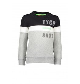 TYGO & Vito TYGO & Vito Sweater Roma cut & sewn Nexterday