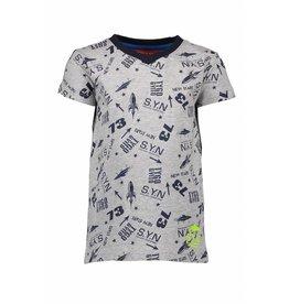 TYGO & Vito TYGO & Vito T-Shirt All Over Print Grijs