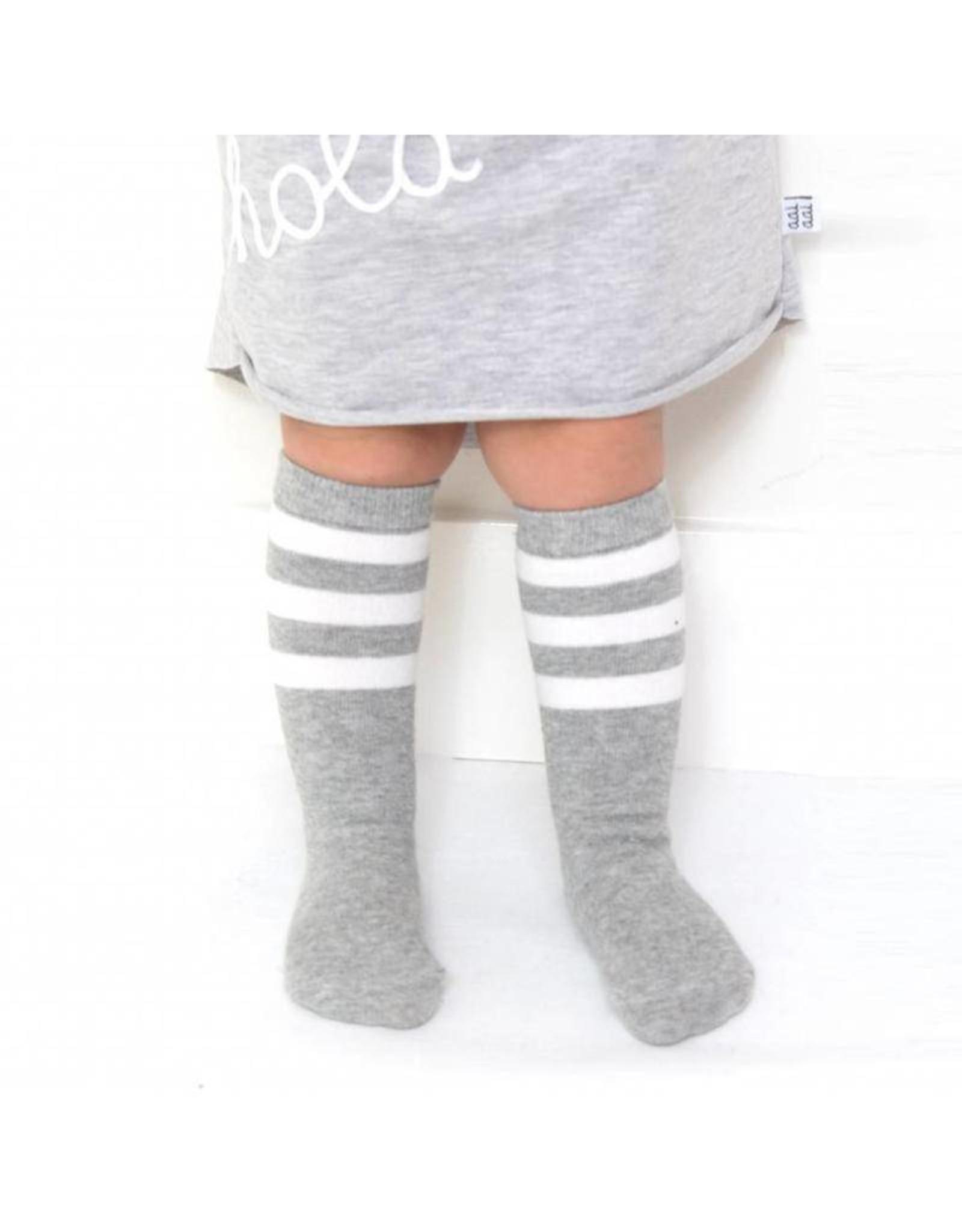 Aai Aai Aai Aai Knee Socks Grijs