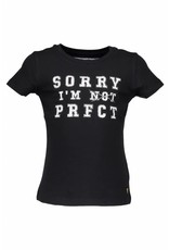 Moodsteet Darlin Moodstreet Darlin T-Shirt I'm Not Perfect Black