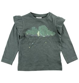 Enfant Enfant Horizon Longsleeve Top Duck Green mt 68