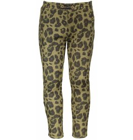Like Flo Like Flo Suede Animal Skinny Army