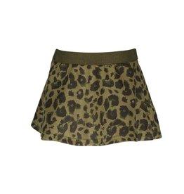 Like Flo Like Flo Suede Animal Skirt Army mt 104