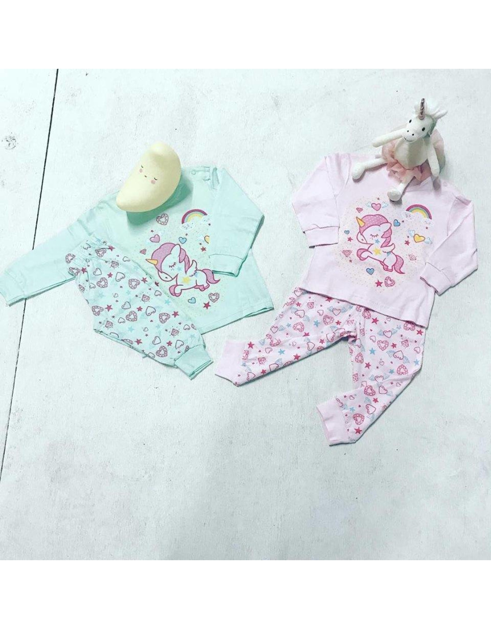 Fun2wear Fun2Wear Pyjama Unicorn Brook green