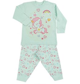 Fun2wear Pyjama Unicorn brook green