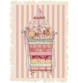 Maileg Maileg kaart met envelop, princess and the pea
