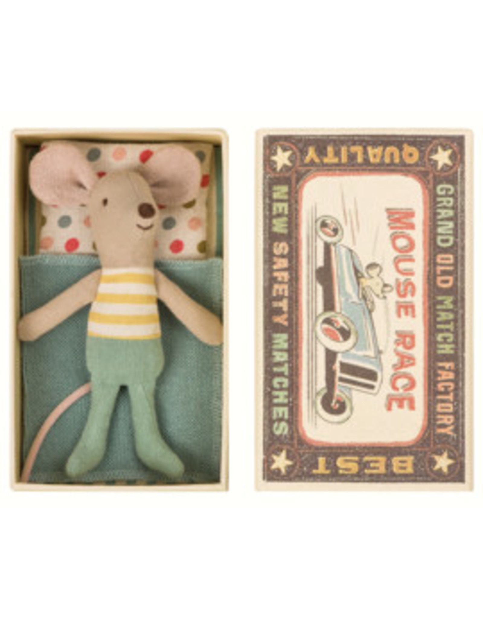 Maileg Maileg Little brother mouse in the box