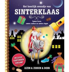 Mijn zaklampboek Het heerlijke avondje Sinterklaas